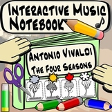 Interactive Music Notebook - Vivaldi's Four Seasons Worksheets