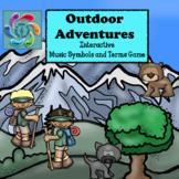 Interactive Music Symbols Games-Google Slides/Adobe Reader-Outdoor Adventures