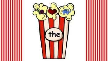 Interactive Mystery Popcorn Words