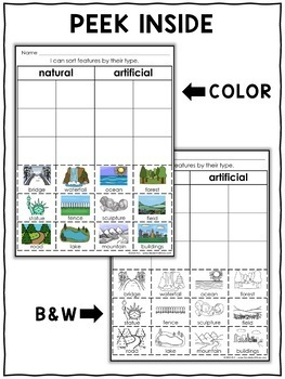 Interactive Activities - Physical Features