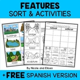 Physical Features Sort Activities