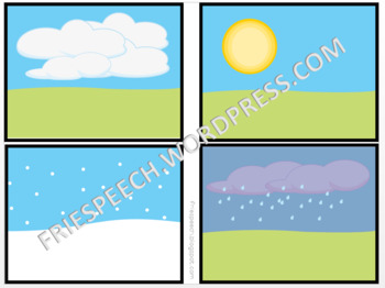Interactive No Print Weather Activity for iPad, Tablet, Computer, or Smart Board