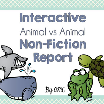 Interactive Non-Fiction Report: Animal vs Animal