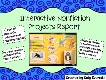 Interactive Nonfiction Project and Report!