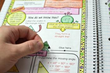 8th Grade Math Interactive Notebook
