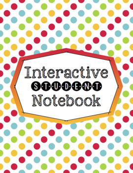 Interactive Student Notebook Info