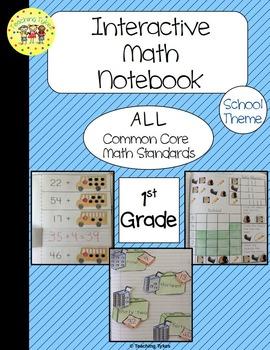 Back to School Interactive 1st Grade Math Notebook