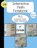 Back to School Interactive 1st Grade Math Notebook