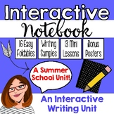 Interactive Notebook for Writing Workshop