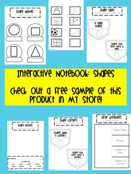Interactive Notebook 2D Shapes