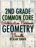 Interactive Notebook: 2nd Grade CCSS Geometry BUNDLE