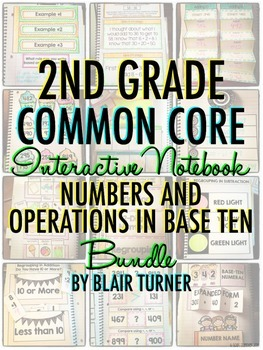 Interactive Notebook: 2nd Grade CCSS Numbers and Operation
