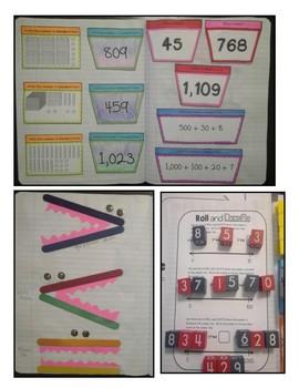 Interactive Notebook - 2nd Grade Math - Texas Standards