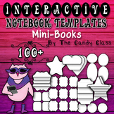 Mini-book Interactive Notebook Templates (Commercial & Classroom Use)