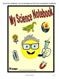 Interactive Notebook 3rd Grade Science covering Georgia Performance Standards