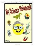 Interactive Notebook 3rd Grade Science covering Georgia Pe