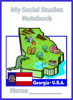 Interactive Notebook 3rd Grade Social Studies Georgia Performance Standards