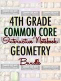 Interactive Notebook: 4th Grade CCSS Geometry BUNDLE