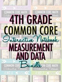 Interactive Notebook: 4th Grade CCSS Measurement and Data BUNDLE