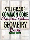 Interactive Notebook: 5th Grade CCSS Geometry BUNDLE