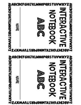 Interactive Notebook ABC