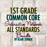 Math Interactive Notebook: 1ST GRADE COMMON CORE