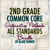 Math Interactive Notebook: 2ND GRADE COMMON CORE BUNDLE
