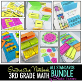 Math Interactive Notebook: 3rd Grade Common Core ALL STAND