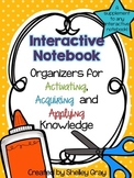 Interactive Notebook: Activating, Acquiring and Applying Knowledge
