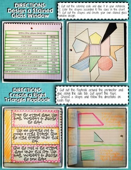 Interactive Notebook Activities - 2-Dimensional Shapes {5.G.3}