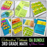 Interactive Notebook: 3rd Grade CCSS Operations & Algebraic Thinking BUNDLE