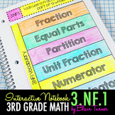 Interactive Notebook Activities - Understanding Fractions {3.NF.1}