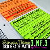 Interactive Notebook Activities - Equivalent Fractions {3.NF.3}