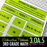 Interactive Notebook Activities - Multiplication Properties {3.OA.5}