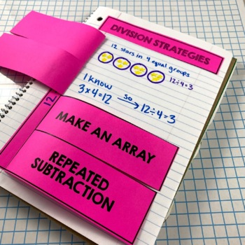 Interactive Notebook Activities - Multiplication/Division Fluency {3.OA.7}