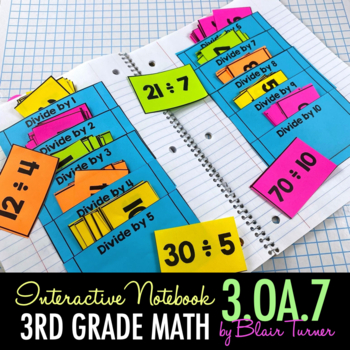 Interactive Notebook Activities - Multiplication/Division
