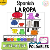 Spanish Distance Learning LA ROPA Clothing and Colors Inte