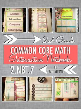 Interactive Notebook - Adding/Subtracting 3-Digit Numbers {2.NBT.7}