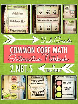 Interactive Notebook Activities - Addition and Subtraction