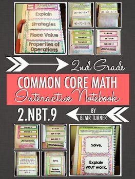 Interactive Notebook Activities - Addition/Subtraction Strategies {2.NBT.9}