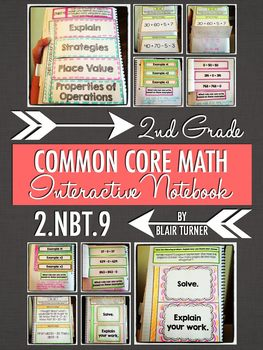 Interactive Notebook Activities - Addition/Subtraction Str