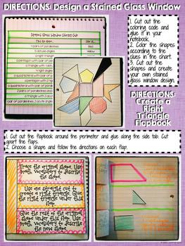 Interactive Notebook Activities - Classifying Polygons (2D Shapes) {4.G.2}