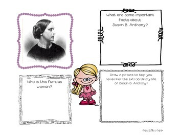 Interactive Notebook Activities & Colorful Posters for Abolitionists/Reformers!