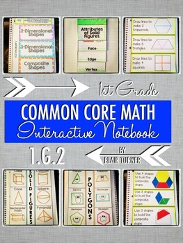 Interactive Notebook Activities - Composite Shapes {1.G.2}