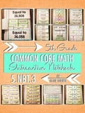 Interactive Notebook Activities - Decimals {5.NBT.3}