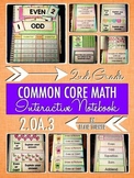 Interactive Notebook Activities - Even and Odd Numbers {2.OA.3}