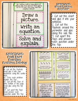 Interactive Notebook Activities - Fractions as Division {5.NF.3}