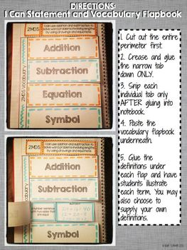 Interactive Notebook Activities - Length Word Problems {2.MD.5}