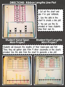 Interactive Notebook Activities - Line Plots {2.MD.9}