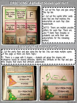 Interactive Notebook Activities - Lines and Angles {4.G.1}